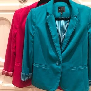 The Limited Colorful Work Blazers